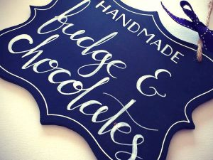 Handmade Fudge & Chocolate Sign