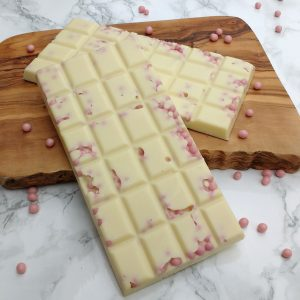 White Chocolate Strawberry Crunch Bar