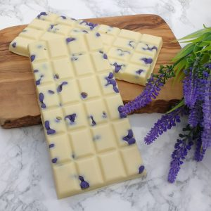 lavender chocolate bar