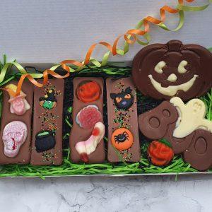 Halloween chocolate gift box