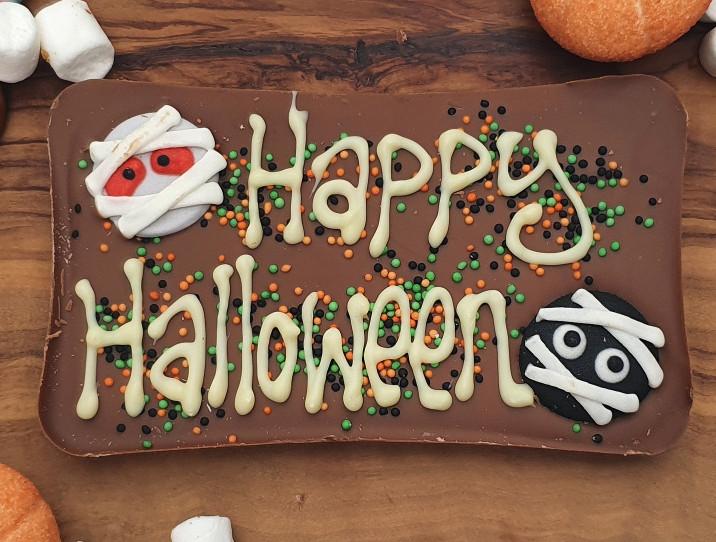 Happy Halloween slab