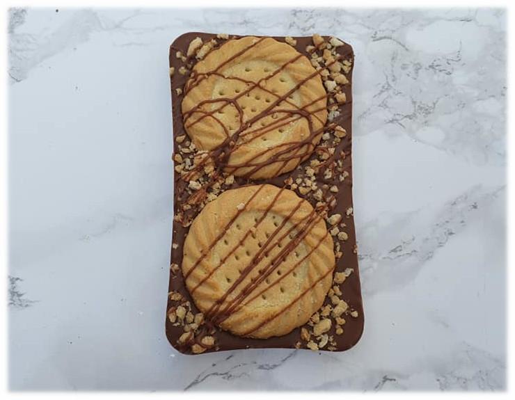 SHORTBREAD COOKIE CHOCOLATE BAR